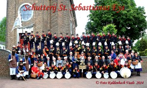 Groepsfoto Schutterij Jaar 2014